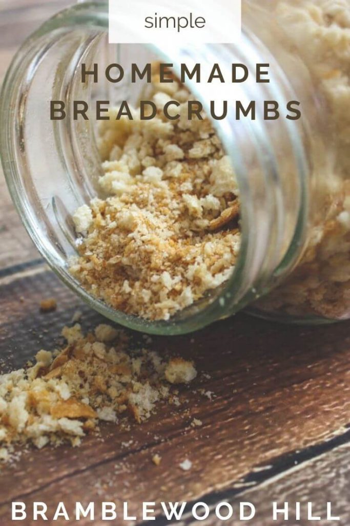 Homemade breadcrumbs are simple to make and are a great way to reduce kitchen waste.
